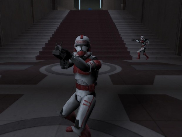 Shock Troopers On Coruscant Image The Battles Of The