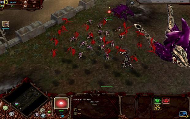 Gargoyles In Game Image Tyranid Mod For Dawn Of War Mod DB