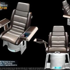 Star Trek Captain S Chair Plans Santa Covers Ireland Wonderful Interior Design For Home Captains Render Image Enterprise M A Blueprints 8 Inch Figures