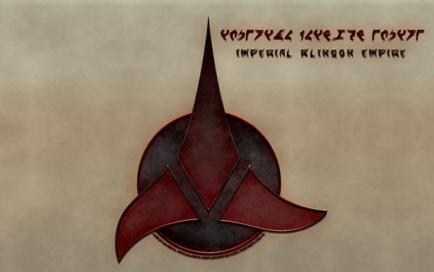 klingon empire logo image