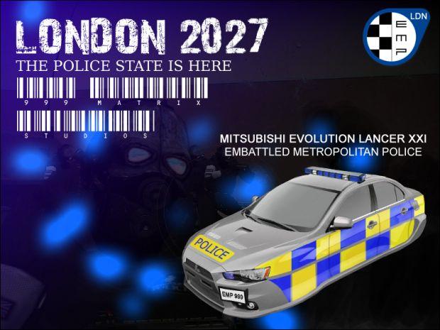 EMP Patrol Car image  London 2027 mod for HalfLife 2