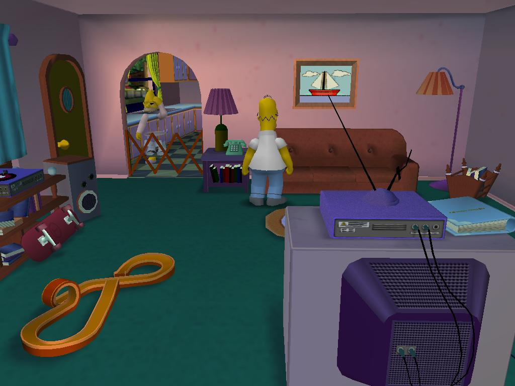 New Areas Completed news  Simpsons Hit And Run