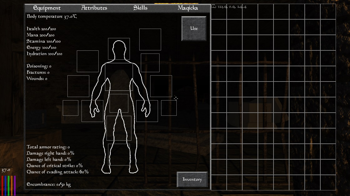 crafting and revamped inventory