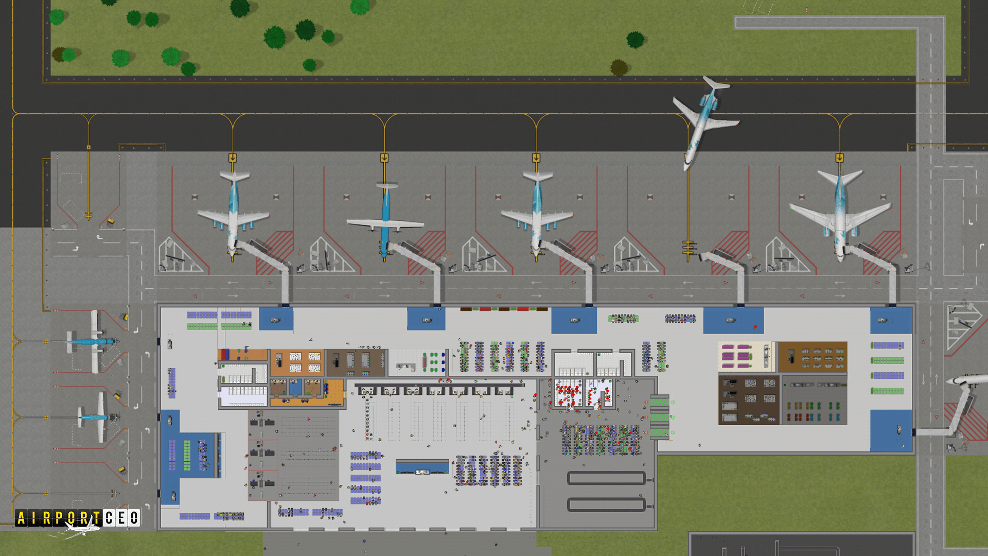 DevLog 66 New Airlines New Screenshots  New Performance news  Airport CEO  Mod DB