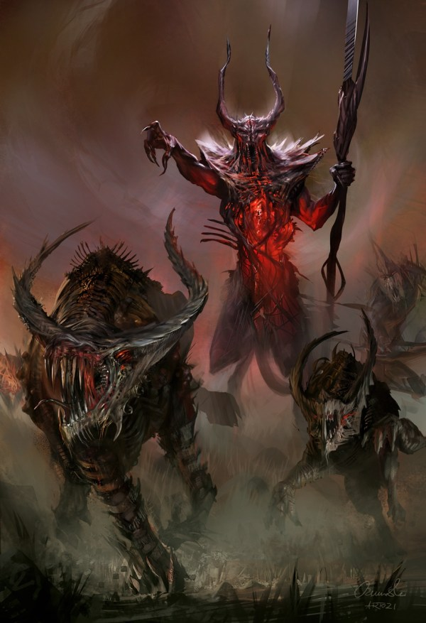 Presenting Lord Of Chaos - Divinity 2 Concept Art