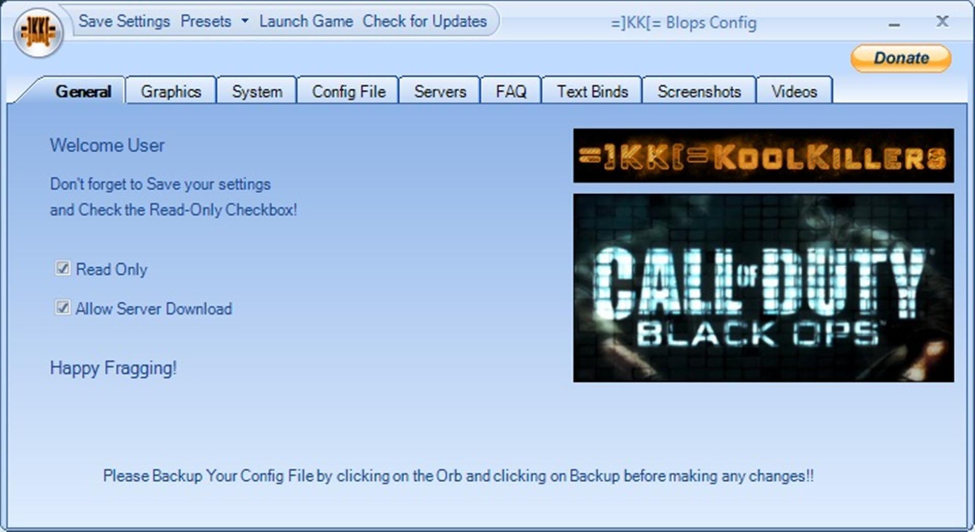 kk black ops config