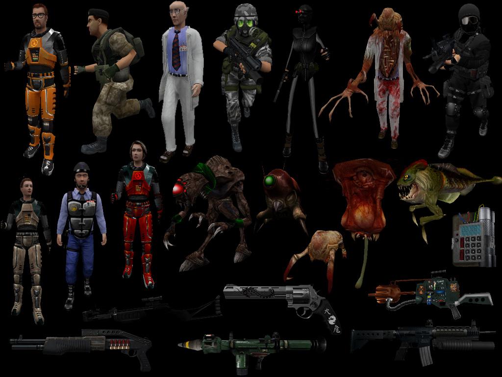Ultimate Half Life Model Pack Updated 7312012 Addon