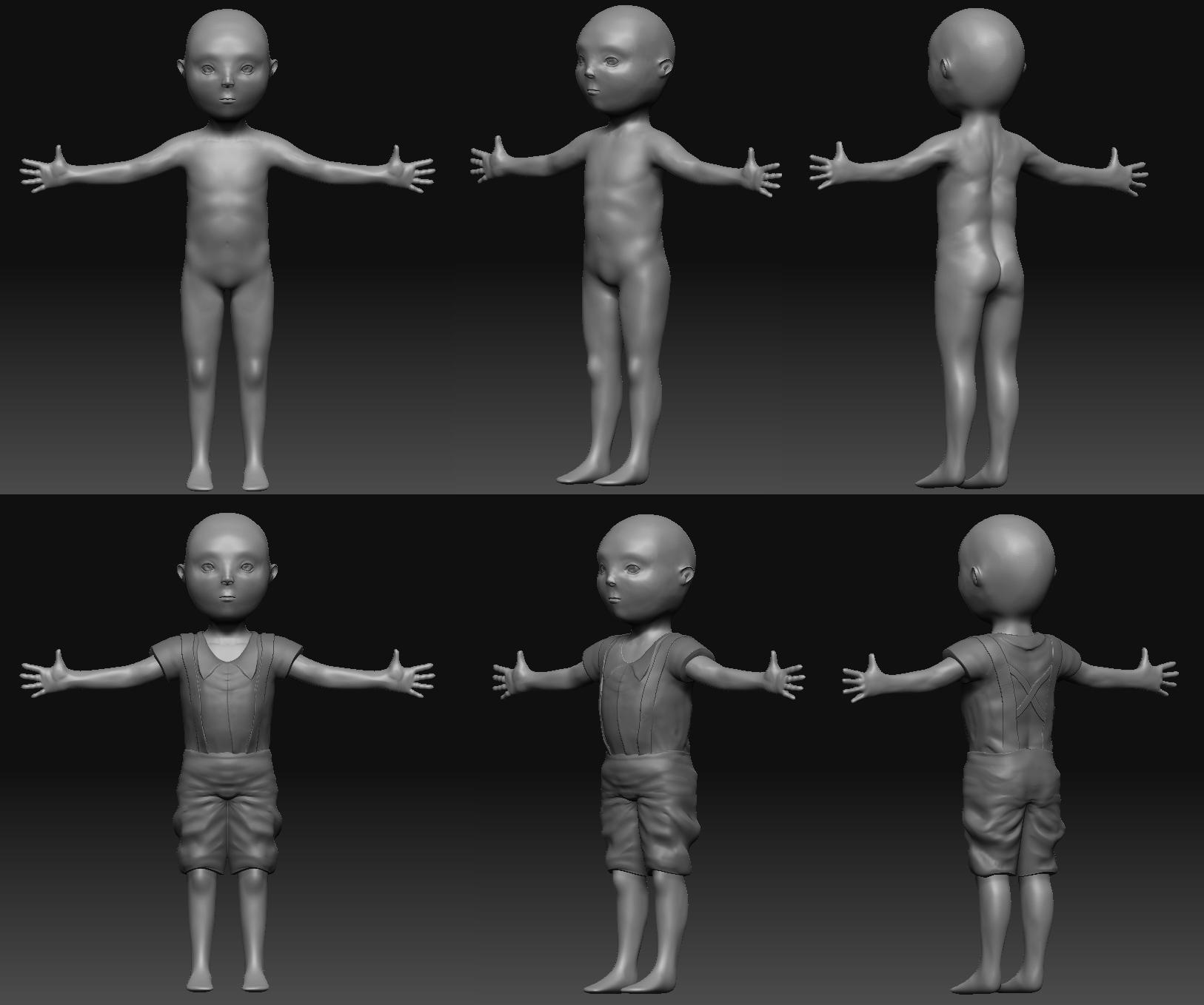 Character 3D Model Concept image  Elementary School Warfare  Mod DB