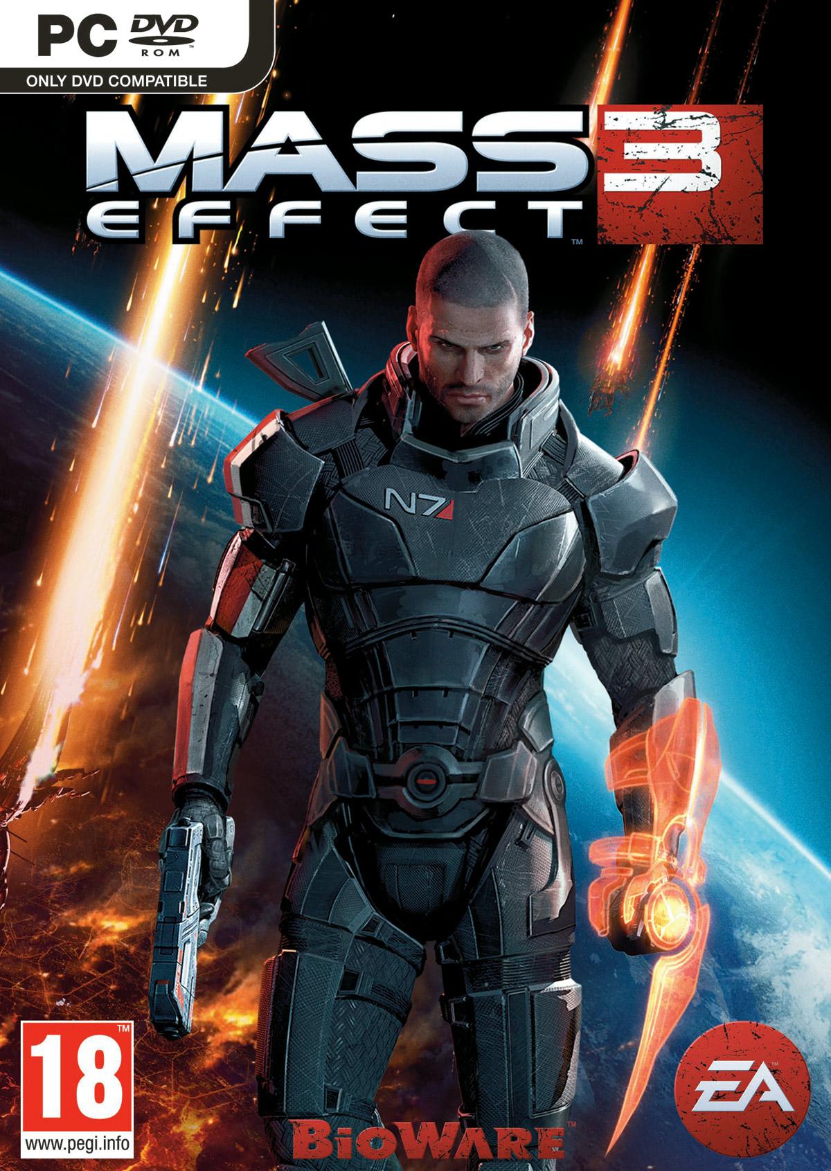 Mass Effect 3 Windows X360 Ps3 Game
