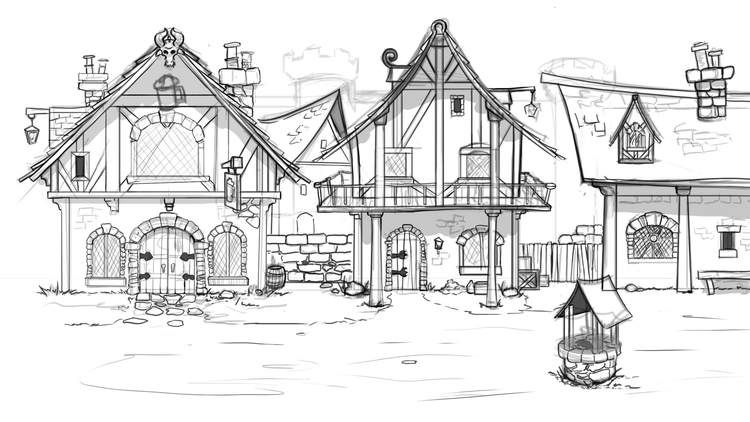 Fantasy Town Image