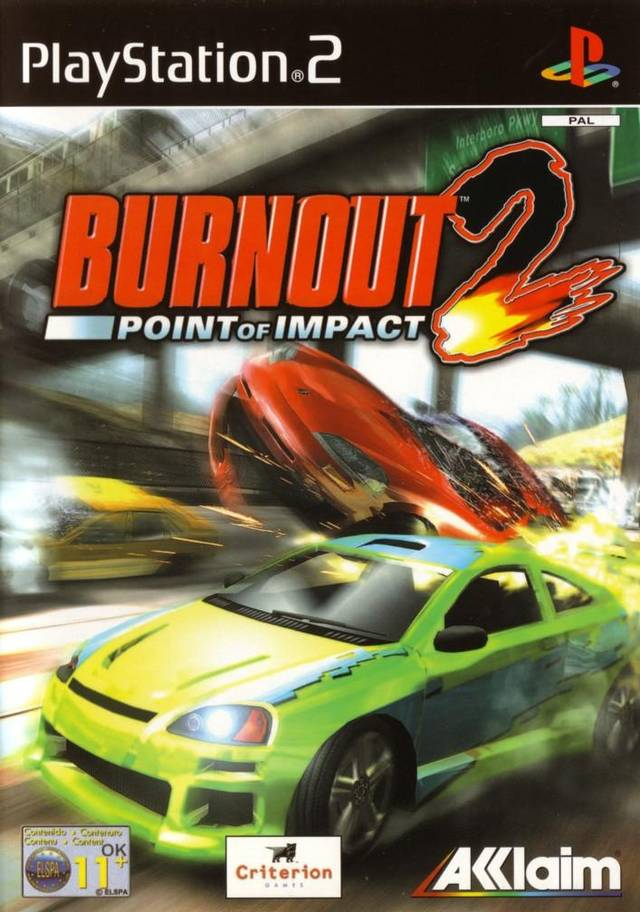 Burnout 2 Point Of Impact XBOX PS2 Game Mod DB