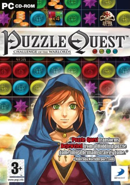 Image result for puzzle quest psp box art