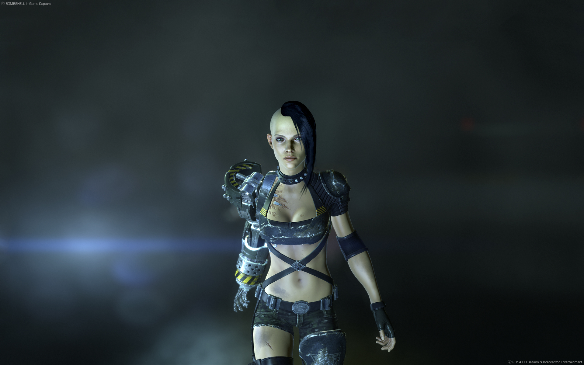 Zombie Girl 3d Wallpaper Bombshell Windows Ps4 Game Mod Db