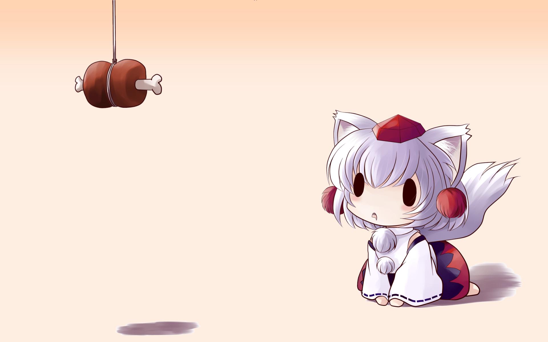 Animal Crossing Fall Wallpaper Fan Art Of Inubashiri Momiji From The Game Touhou Image