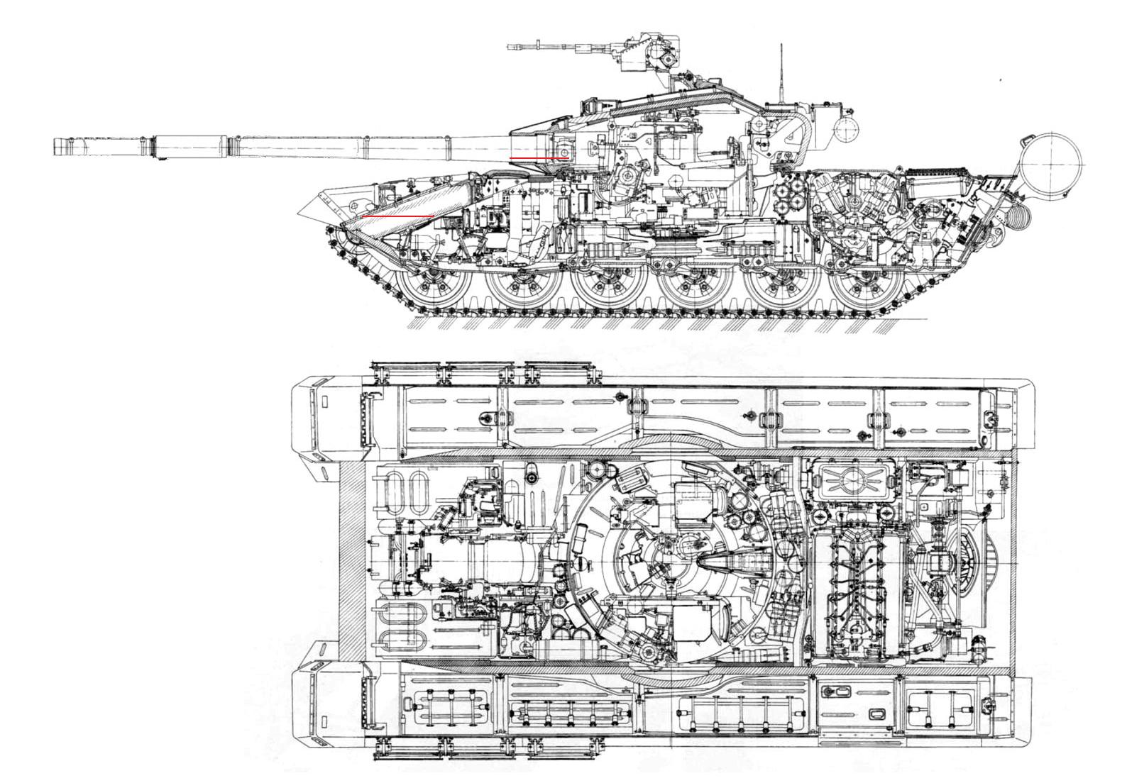 Russian Tank Schematics Pictures to Pin on Pinterest