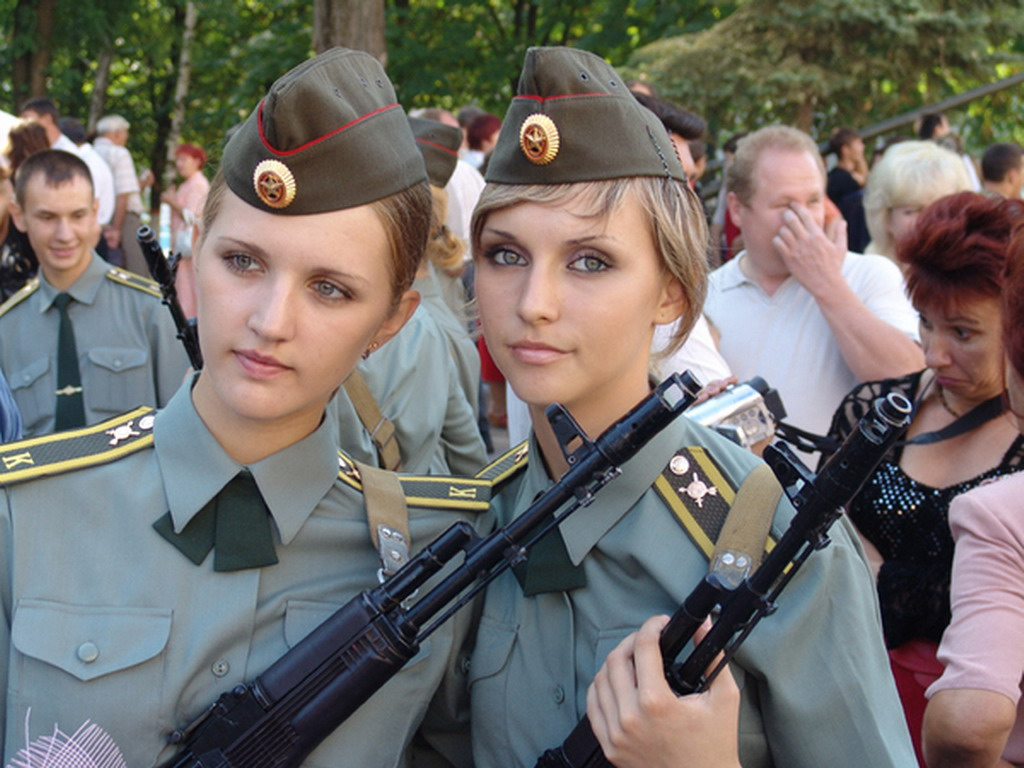 Russian Female Soldiers
