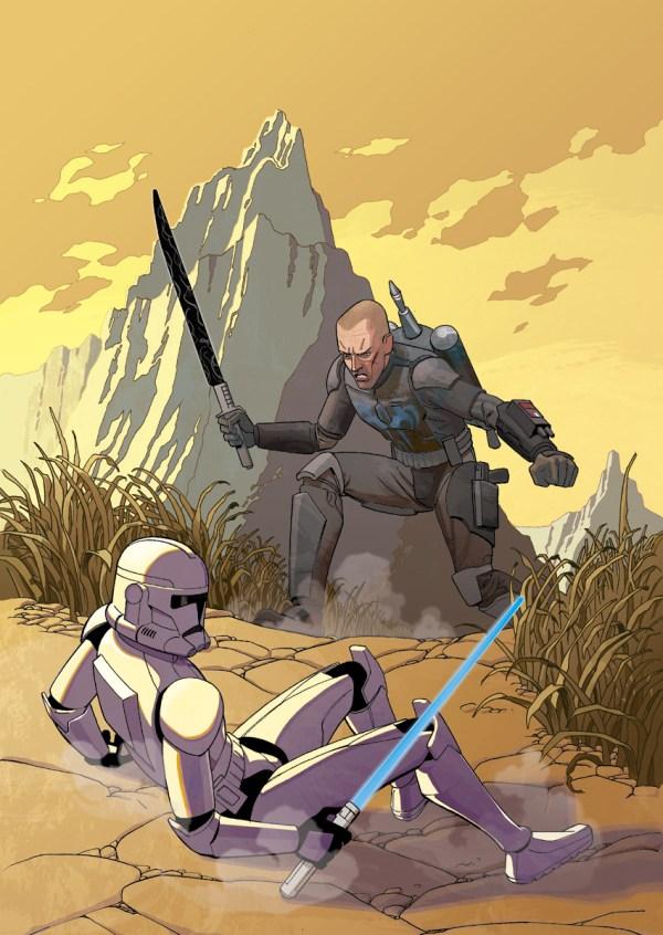 Star Wars Clone Trooper Art