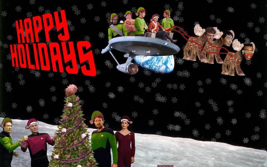 Christmas Greetings From Star Trek Image Dark Force