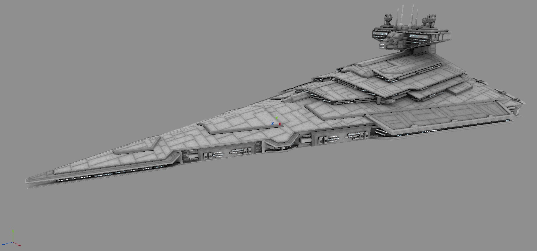 Imperial Victory Star Destroyer Wip Image