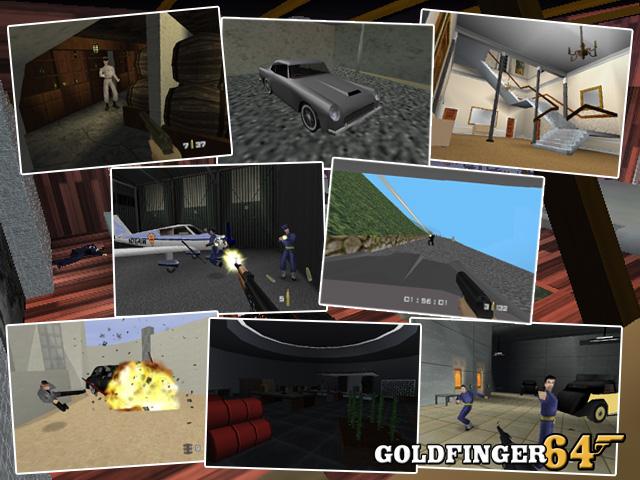 Goldfinger 64 mod for GoldenEye 007  Mod DB