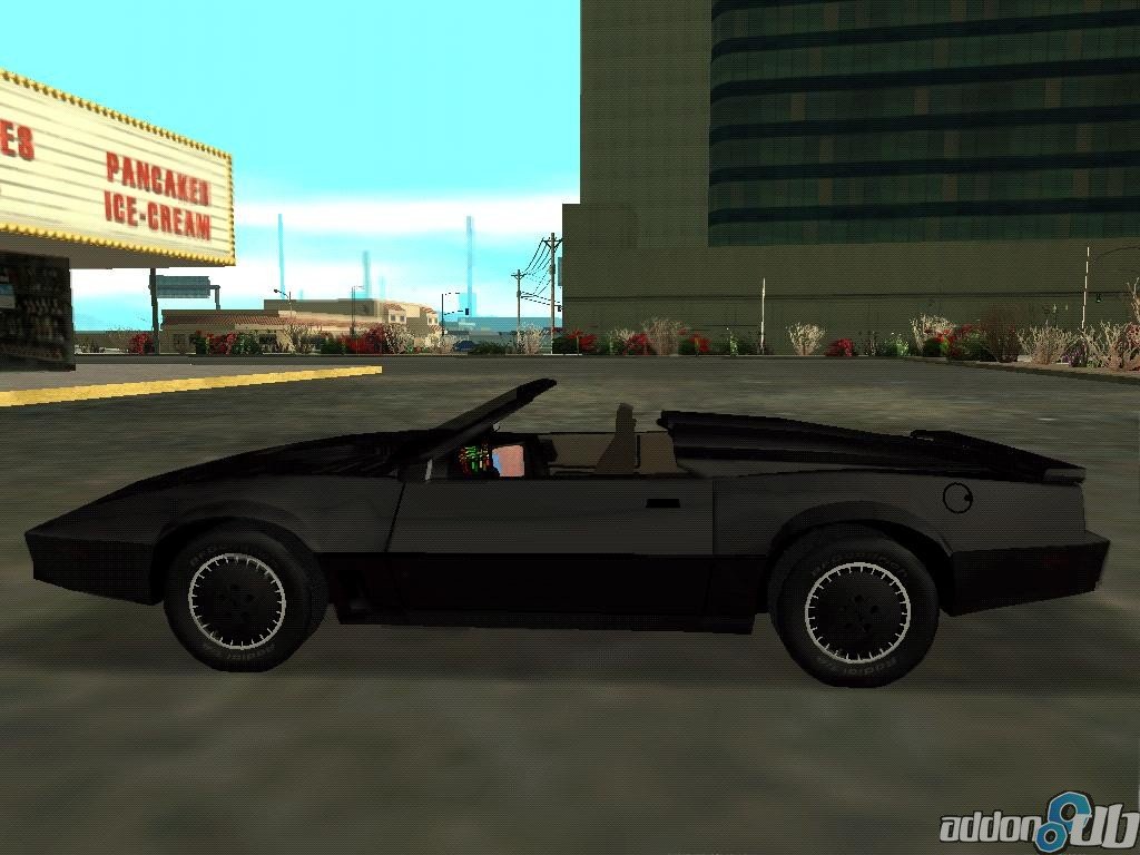 Grand Theft Auto San Andreas Car Wallpaper Convertible Kitt Image Gta Knight Rider Mod For Grand
