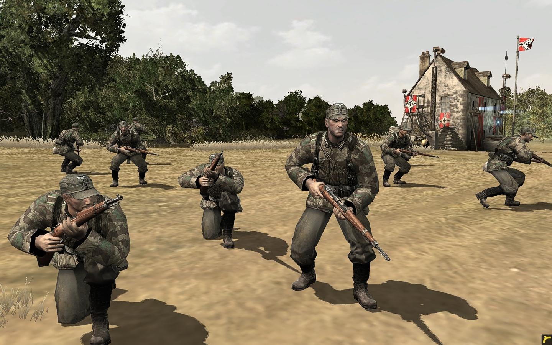 New HD Skin For Wehrmacht Volksgrenadier Leader Image
