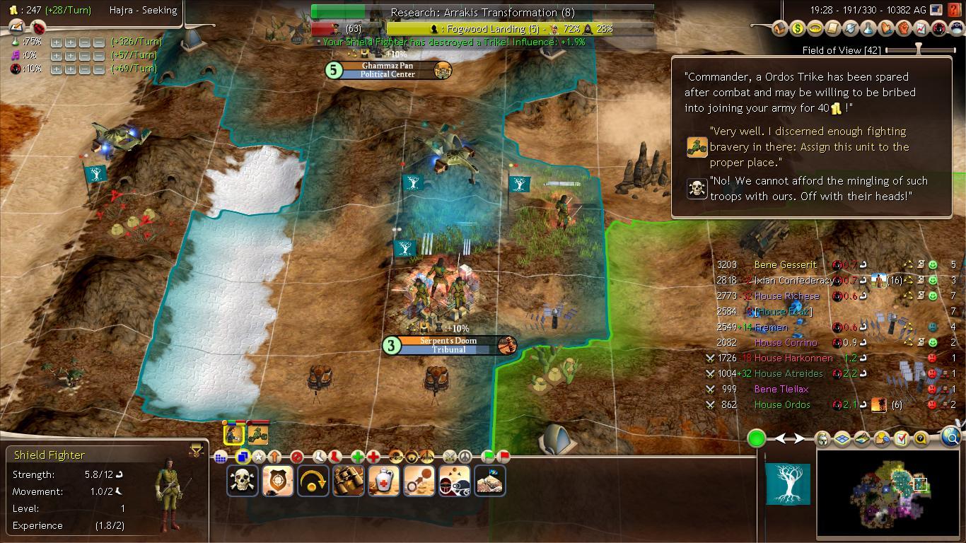 Dune Wars Revival  Ecaz Bribe Unit Ability image  Mod DB