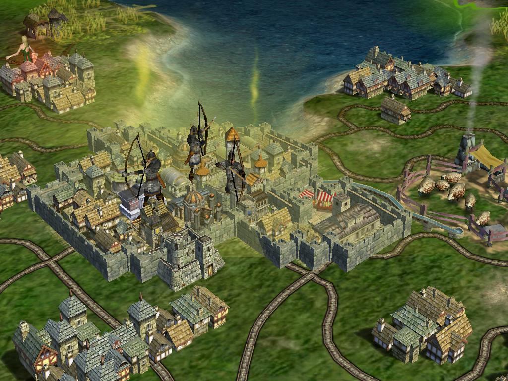 Medieval City image  Fairy Tale mod for Civilization IV Beyond the Sword  Mod DB