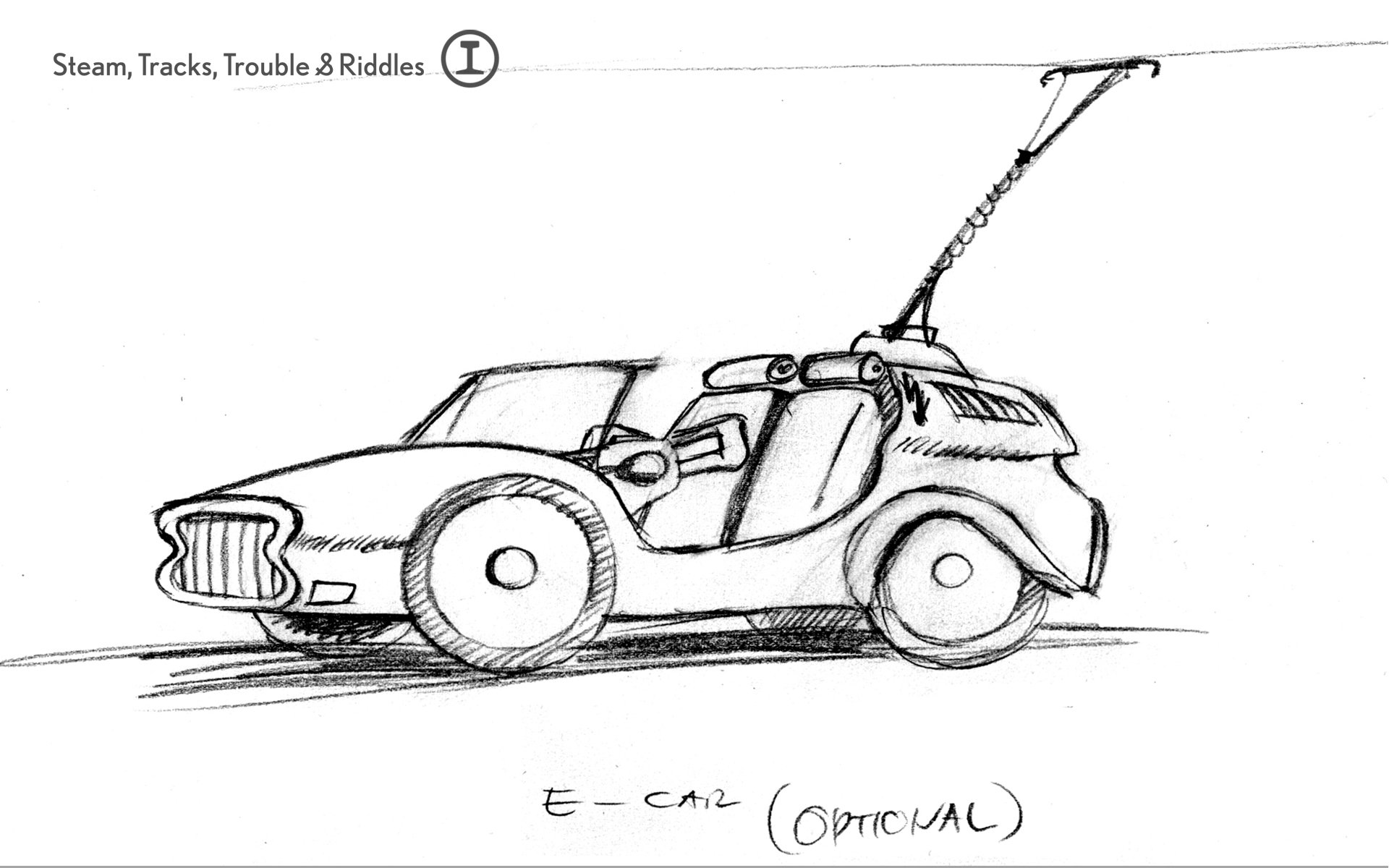 Early Concept Scribbles Image
