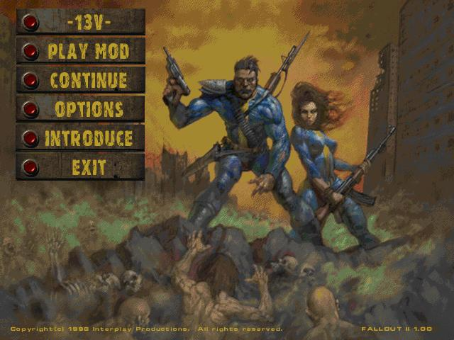 13V Mod For Fallout 2 Mod DB