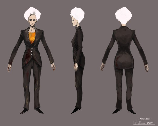 Woman Character Concept Art