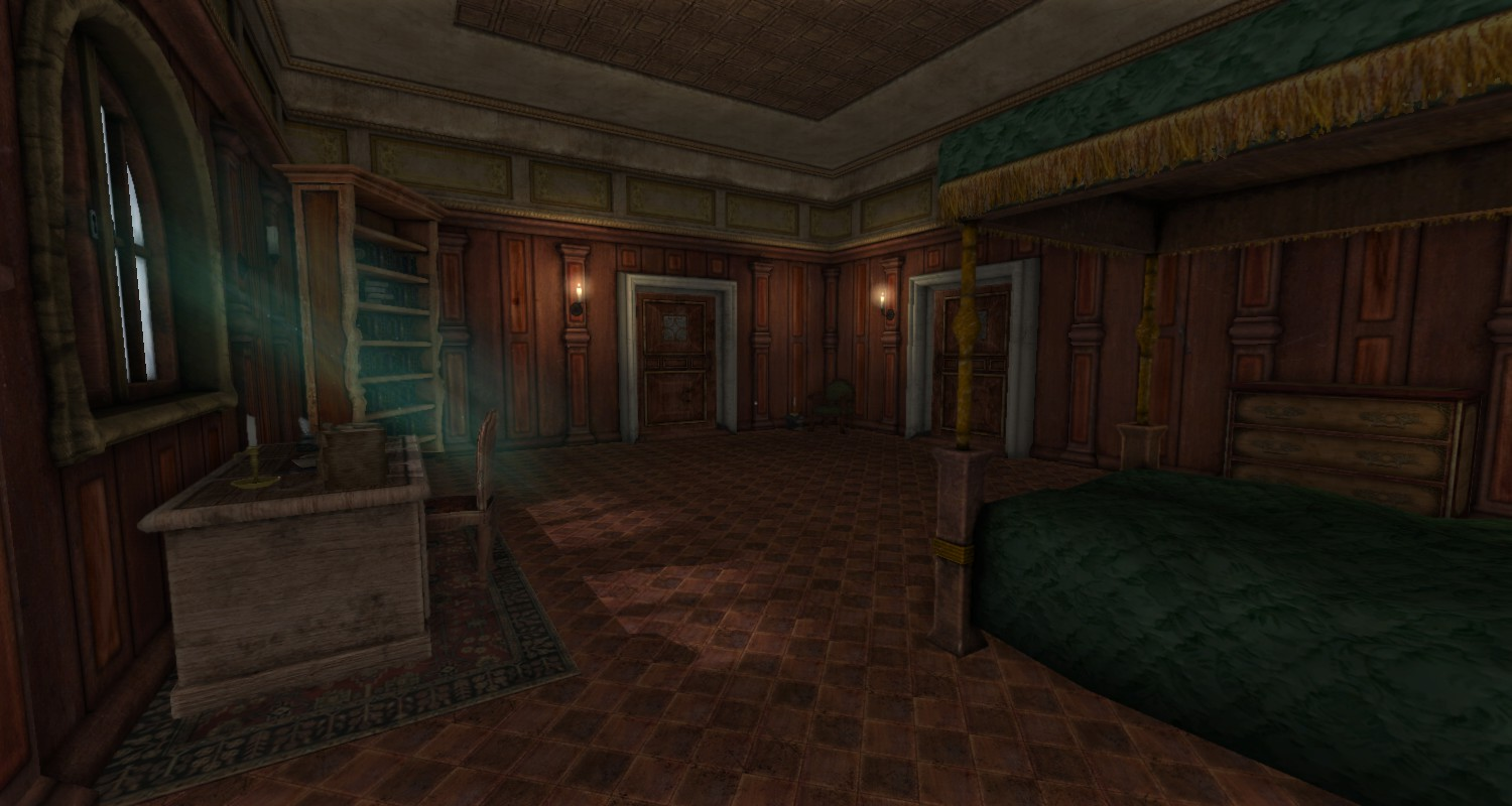 Dark Castle Bedroomghantapic