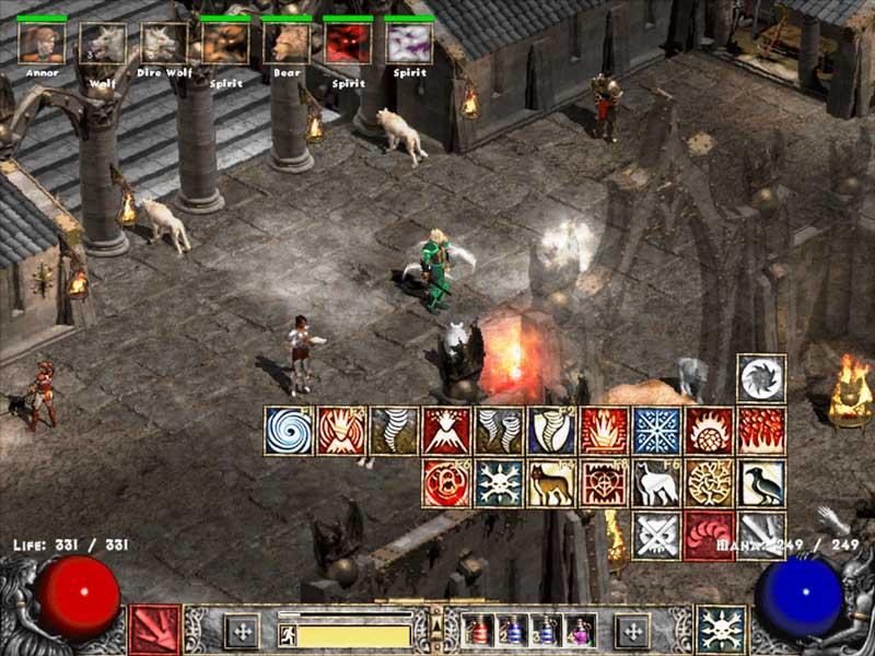 Druid Army Image Diablo 2 LOD Maximum Power Mod For