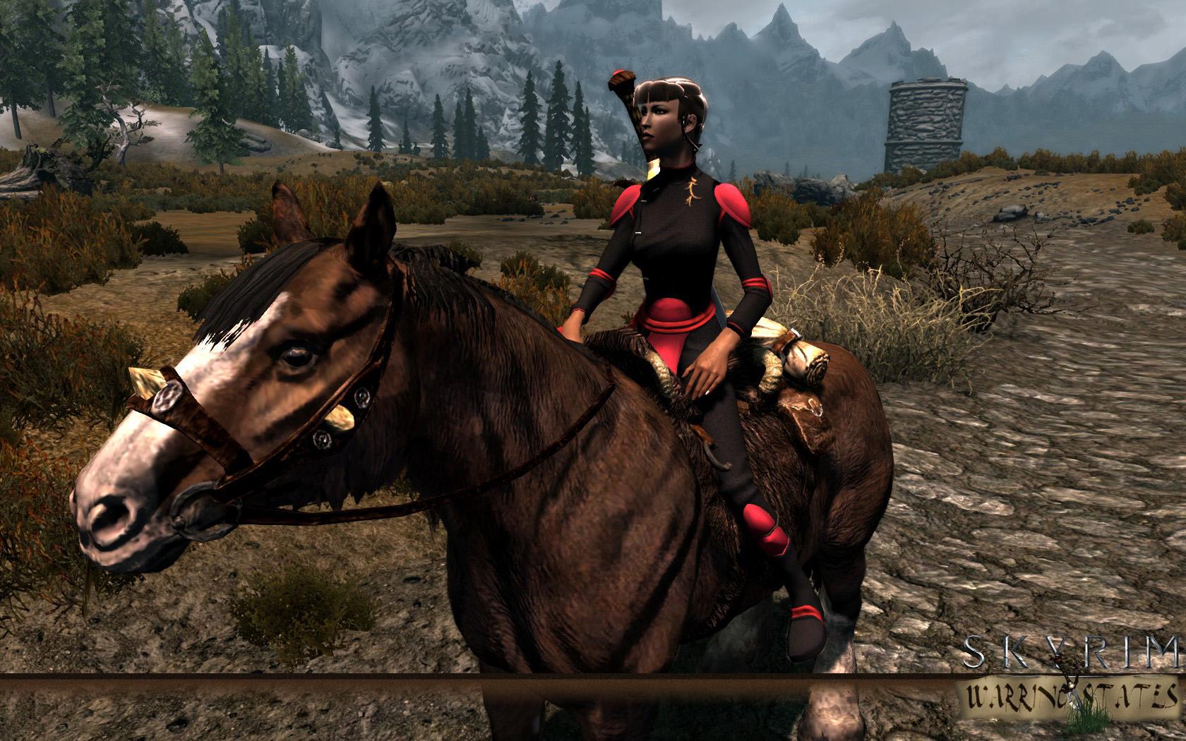 Demon Hunter Armor Scout 2 Image Skyrim Warring