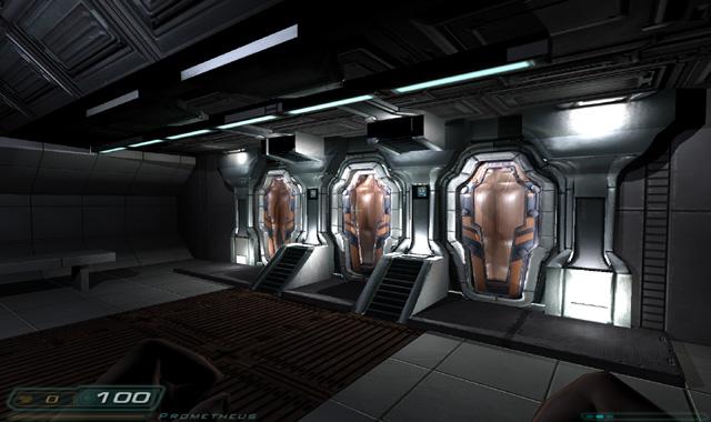 Ship Rooms Image Prometheus DOOM 3 Movie Mod For Doom