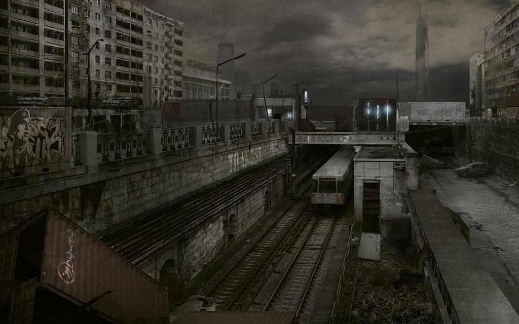 Desktop Wallpaper Fall Out Half Life 2 Unreal Mod Mod Db