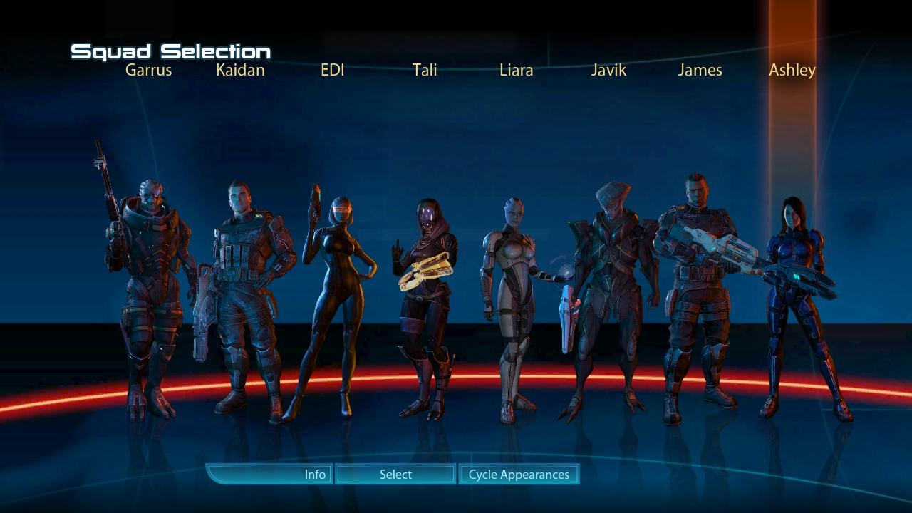 Resurrect Kaidan and Ashley image  MOTHER OF ALL MODS for Mass Effect 3  Mod DB