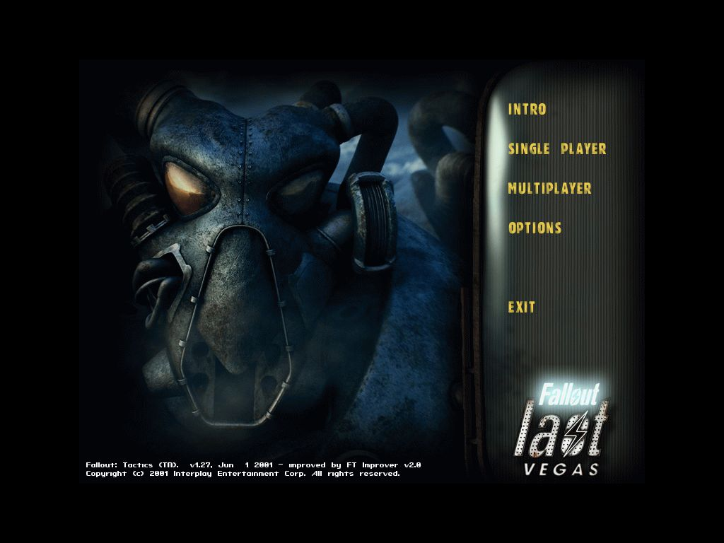 Fall Out New Vegas Wallpaper New Main Menu In Game With New Button Image Project