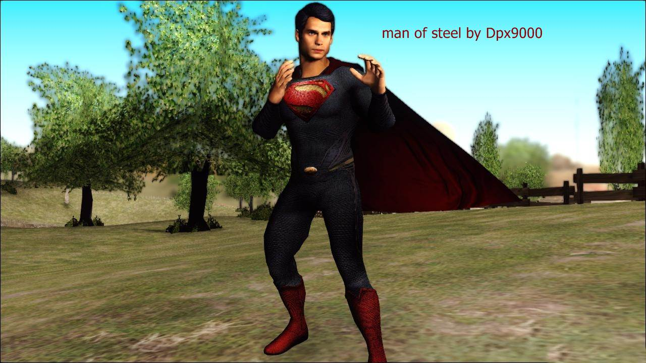 Man Of Steel Mod For Grand Theft Auto San Andreas Mod DB