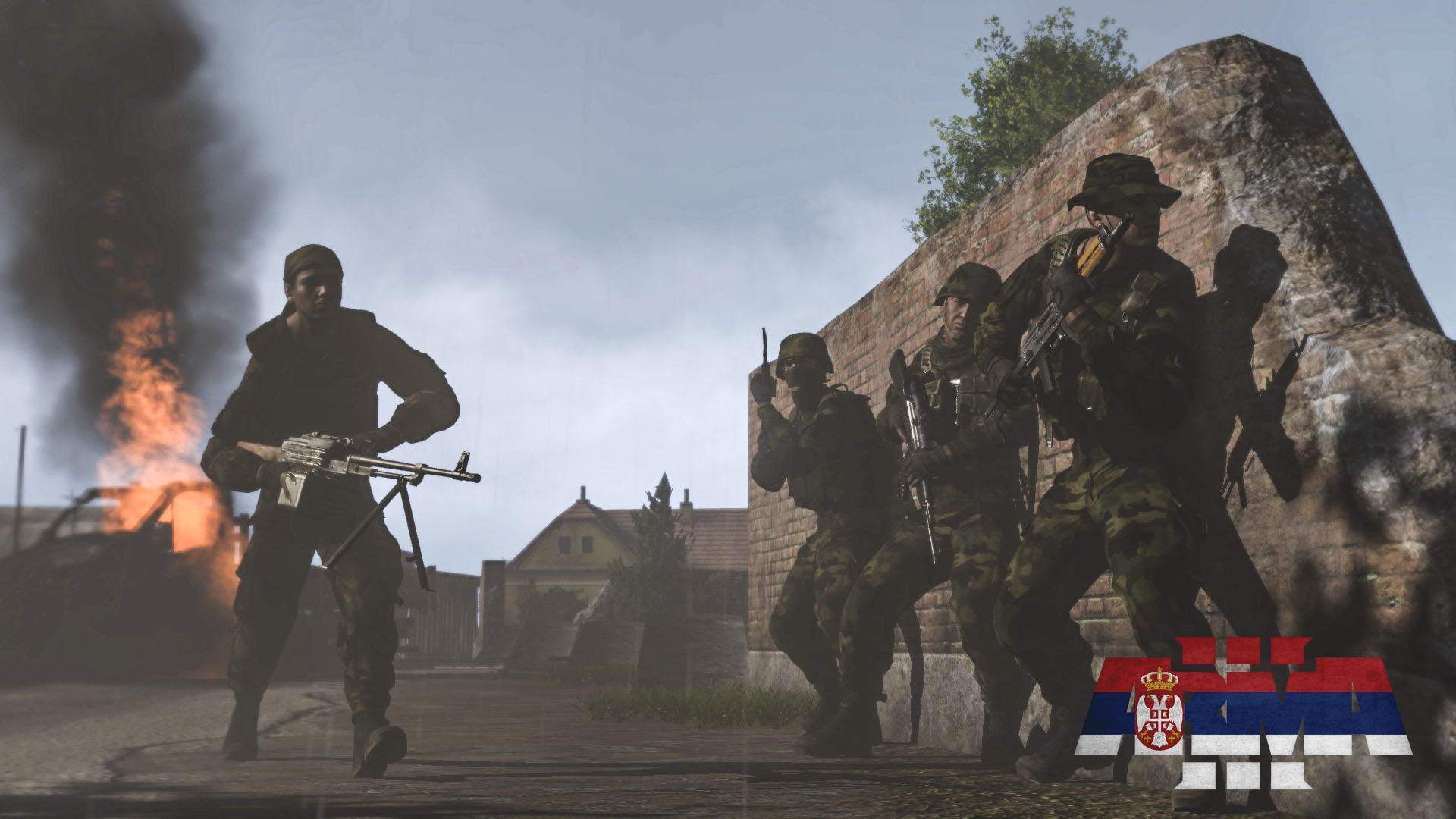 Morning Clean Up Image Serbian Armed Forces SAF ArmA3