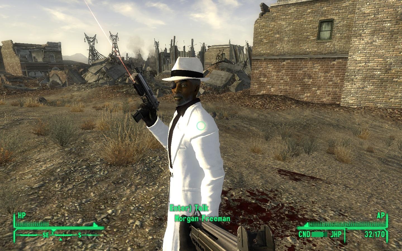Morgan Freeman Companion mod for Fallout New Vegas  Mod DB