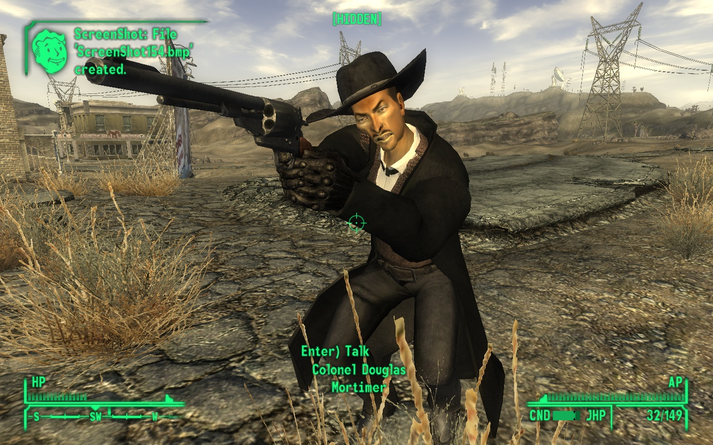 Fall Out New Vegas Wallpaper Lee Van Cleef Companion Mod For Fallout New Vegas Mod Db