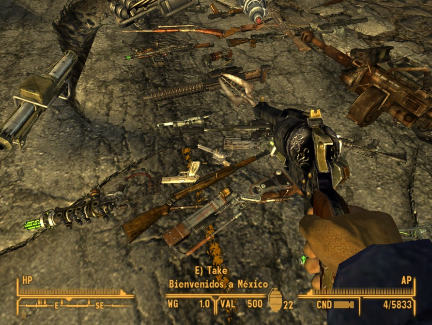 New Unique Weapons mod for Fallout New Vegas  Mod DB