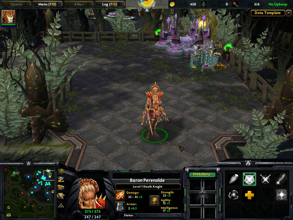 New Hero Image DotA The Realm Of Heroes Mod For