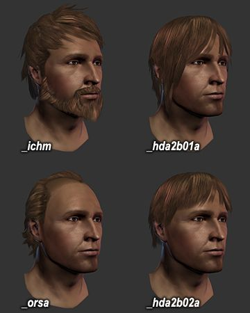 Tucked Hair - Dragon Age: Origins - GameFAQs