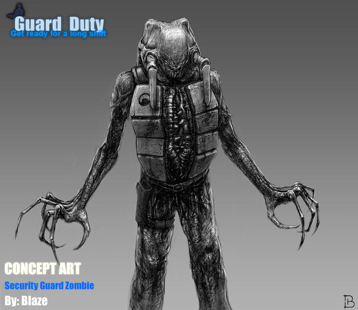 Security Guard Good Job