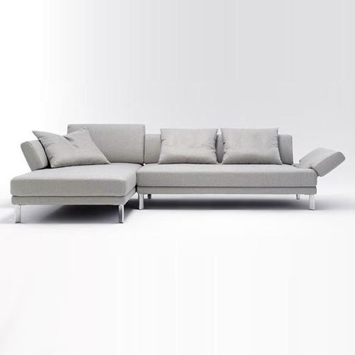 Big Sofa Hellgrau
