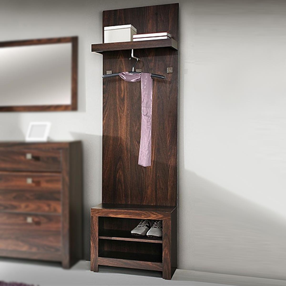 garderobe kolonialstil massivholz garderobe hutablage kleiderhaken kiefer massiv. Black Bedroom Furniture Sets. Home Design Ideas