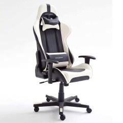 Dx Racing Gaming Chair Silver Organza Sashes Schreibtischstuhl Computerstuhl Racer Design Bürostuhl