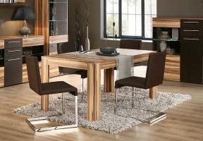 Esstisch Savoy Tisch Esszimmertisch in Baltimore Walnuss ...